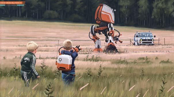 Το μέλλον όπως το φαντάζεται ένας Σουηδός καλλιτέχνης (2)