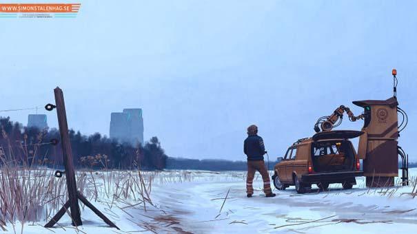 Το μέλλον όπως το φαντάζεται ένας Σουηδός καλλιτέχνης (12)