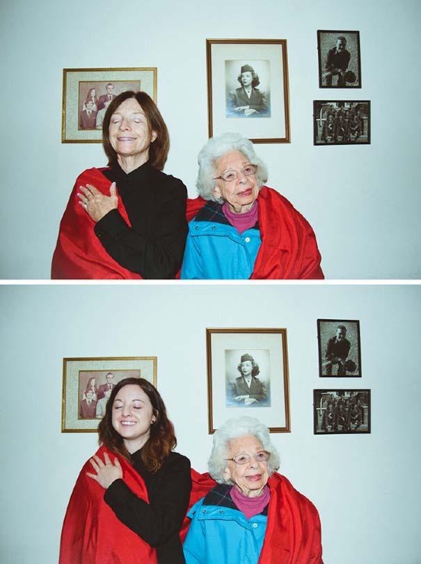Μητέρα και κόρη στις ίδιες πόζες (12)