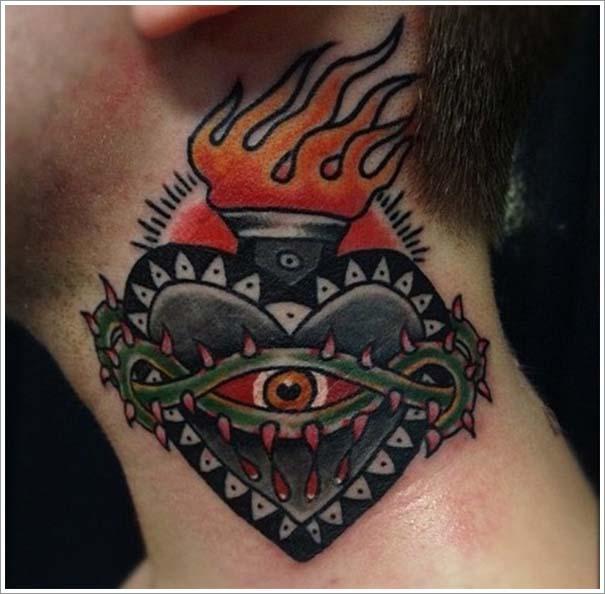 Μοναδικά τατουάζ σε σχήμα καρδιάς (2)