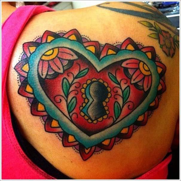 Μοναδικά τατουάζ σε σχήμα καρδιάς (4)