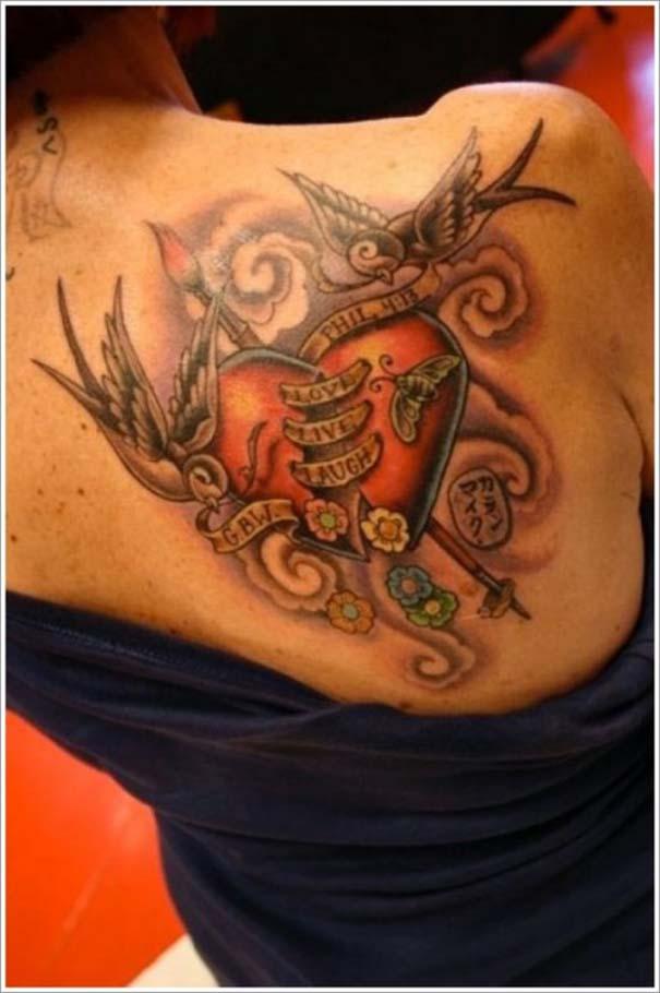 Μοναδικά τατουάζ σε σχήμα καρδιάς (5)