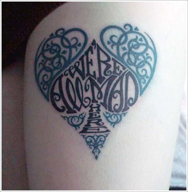 Μοναδικά τατουάζ σε σχήμα καρδιάς (9)