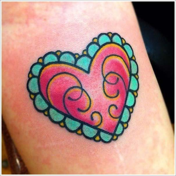 Μοναδικά τατουάζ σε σχήμα καρδιάς (14)