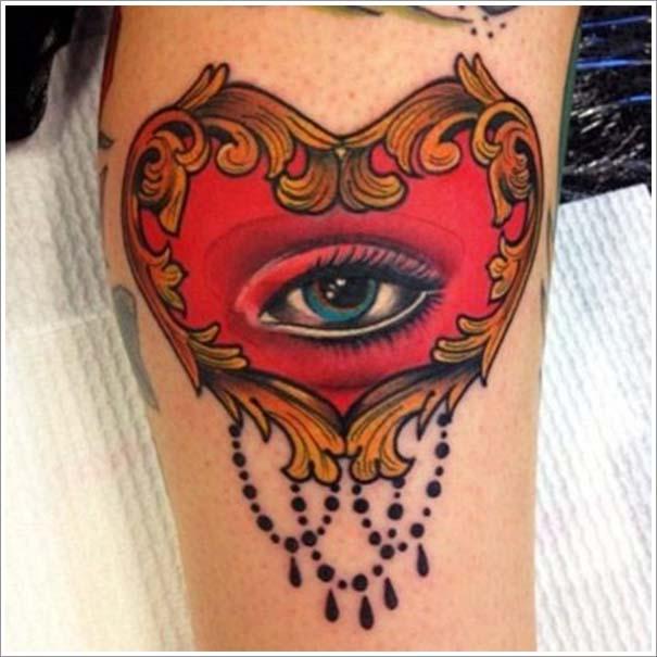 Μοναδικά τατουάζ σε σχήμα καρδιάς (15)