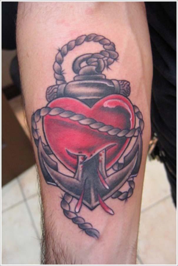 Μοναδικά τατουάζ σε σχήμα καρδιάς (17)