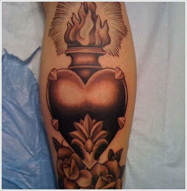 Μοναδικά τατουάζ σε σχήμα καρδιάς (23)