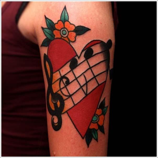 Μοναδικά τατουάζ σε σχήμα καρδιάς (24)