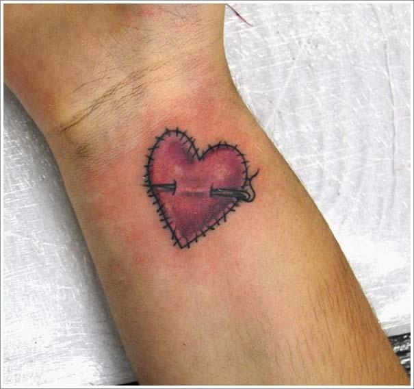 Μοναδικά τατουάζ σε σχήμα καρδιάς (28)
