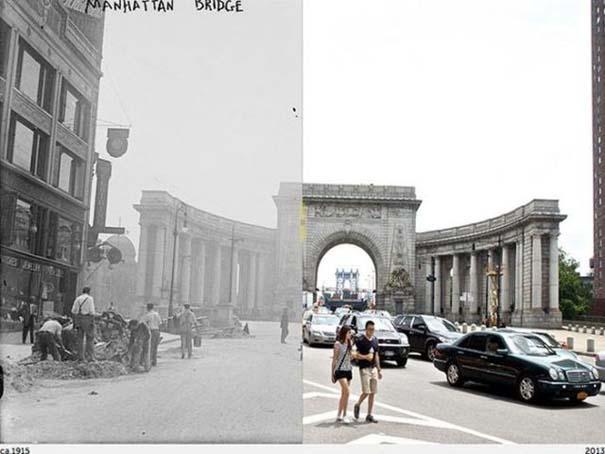 Νέα Υόρκη: Φωτογραφίες του παρελθόντος συναντούν το σήμερα (1)