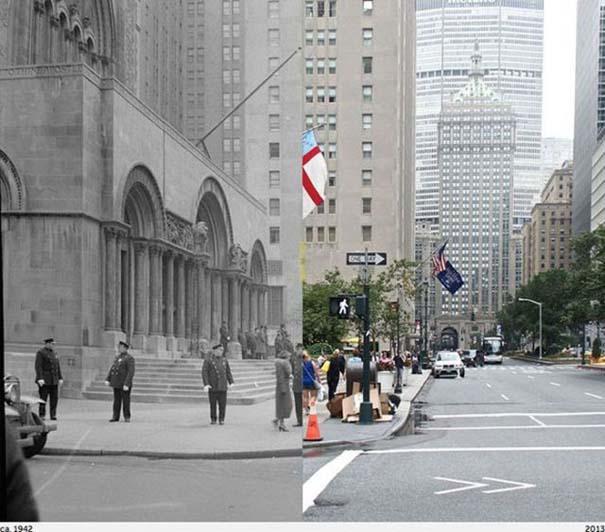 Νέα Υόρκη: Φωτογραφίες του παρελθόντος συναντούν το σήμερα (3)