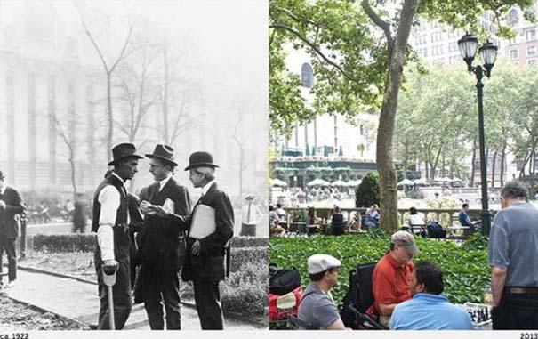Νέα Υόρκη: Φωτογραφίες του παρελθόντος συναντούν το σήμερα (6)
