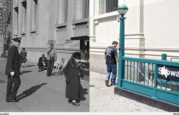 Νέα Υόρκη: Φωτογραφίες του παρελθόντος συναντούν το σήμερα (12)