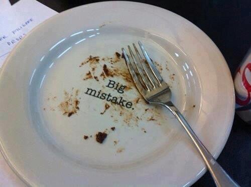 Το πιάτο που σε κατακρίνει | Φωτογραφία της ημέρας