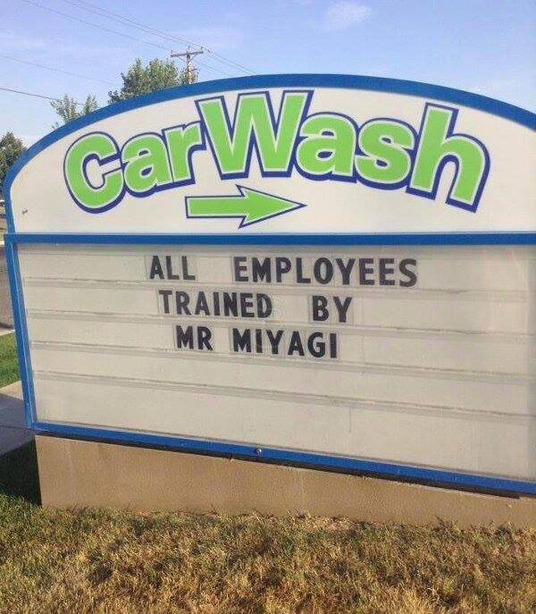 Πλυντήριο αυτοκινήτων που μπορείς να εμπιστευτείς | Φωτογραφία της ημέρας