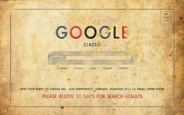 Google στην εποχή των παππούδων μας | Φωτογραφία της ημέρας