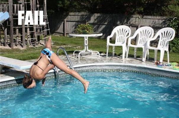 Τα μεγαλύτερα fails σε βατήρες πισίνας