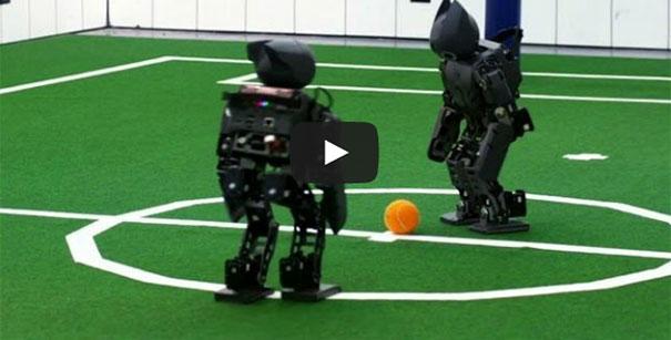 Ποδόσφαιρο με ρομπότ
