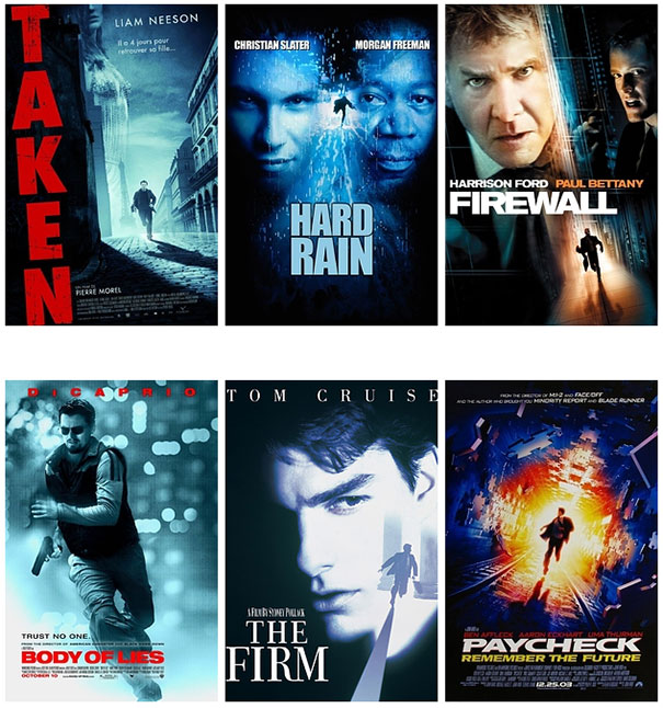 Posters ταινιών: Τα μεγαλύτερα κλισέ (3)