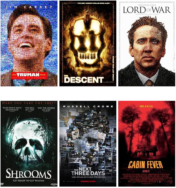 Posters ταινιών: Τα μεγαλύτερα κλισέ (4)