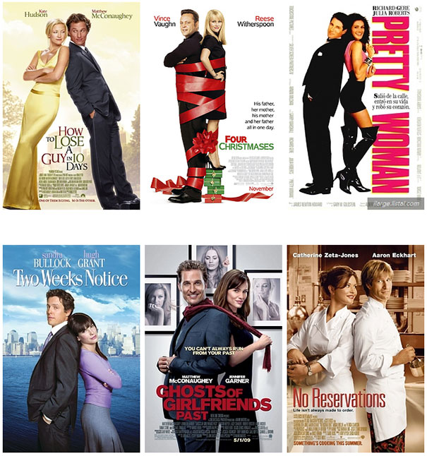 Posters ταινιών: Τα μεγαλύτερα κλισέ (7)