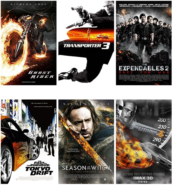 Posters ταινιών: Τα μεγαλύτερα κλισέ (8)