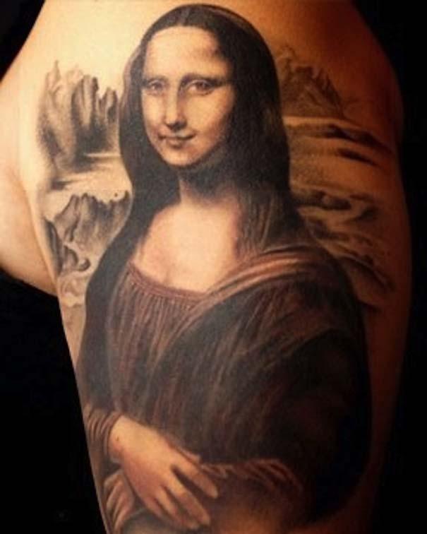 Τατουάζ εμπνευσμένα από διάσημα έργα τέχνης (1)