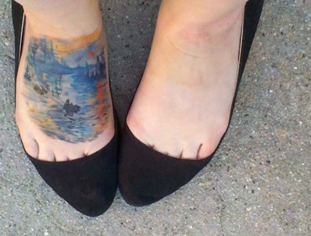 Τατουάζ εμπνευσμένα από διάσημα έργα τέχνης (3)