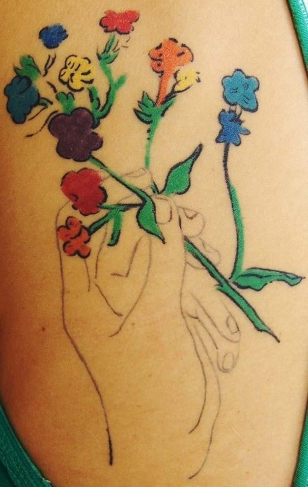Τατουάζ εμπνευσμένα από διάσημα έργα τέχνης (10)