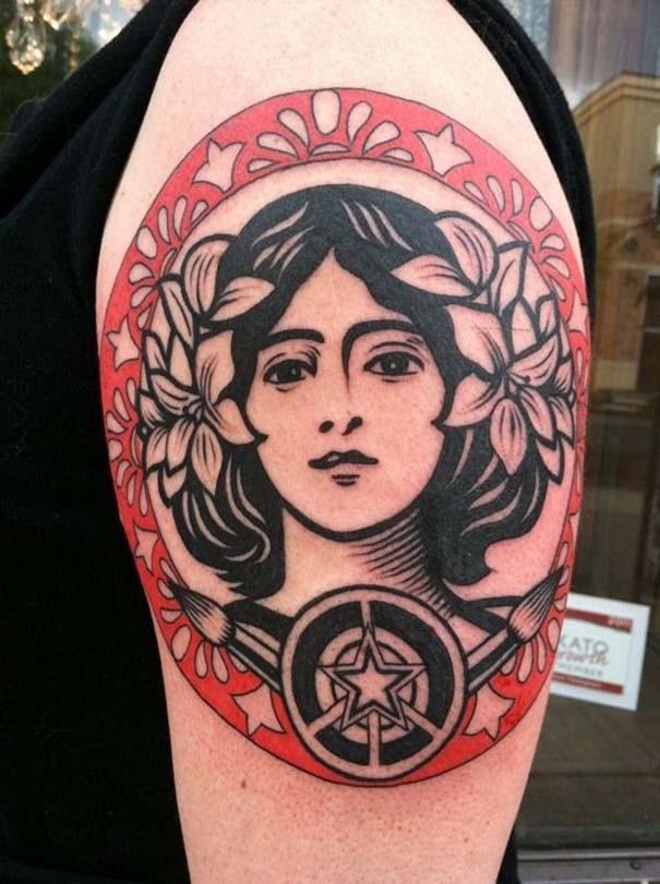 Τατουάζ εμπνευσμένα από διάσημα έργα τέχνης (12)
