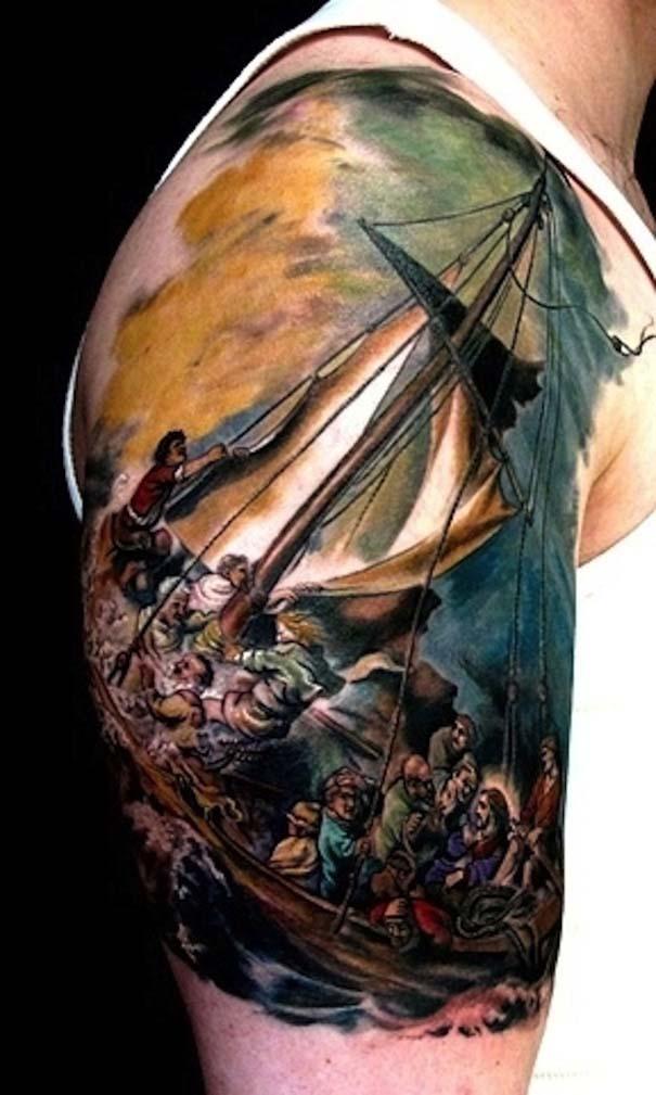 Τατουάζ εμπνευσμένα από διάσημα έργα τέχνης (14)