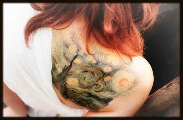 Τατουάζ εμπνευσμένα από διάσημα έργα τέχνης (15)