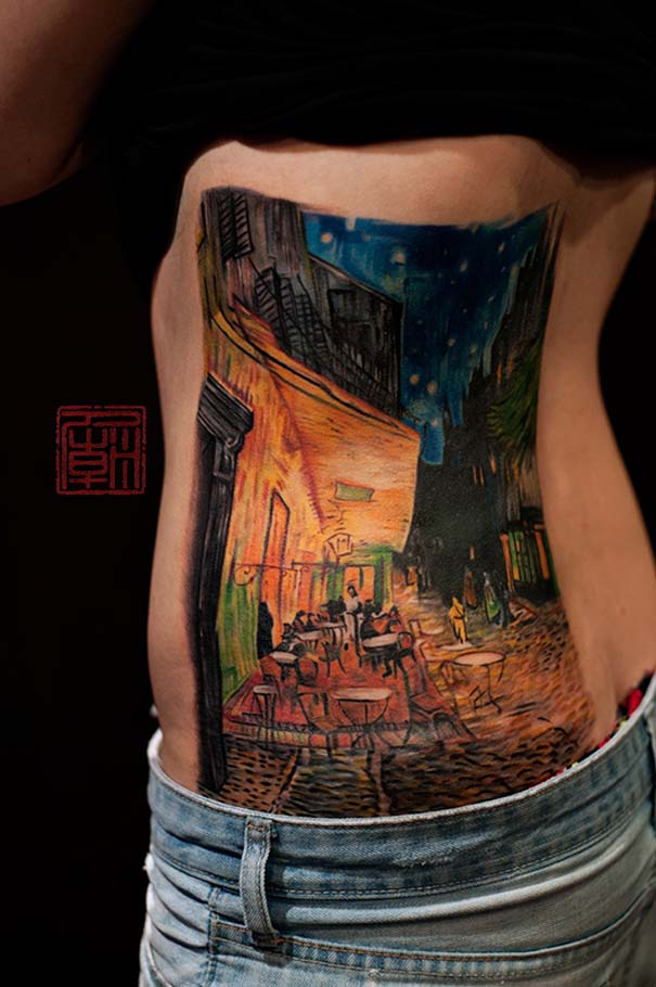 Τατουάζ εμπνευσμένα από διάσημα έργα τέχνης (19)