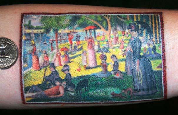 Τατουάζ εμπνευσμένα από διάσημα έργα τέχνης (23)