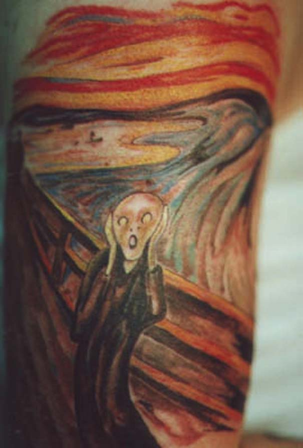 Τατουάζ εμπνευσμένα από διάσημα έργα τέχνης (24)