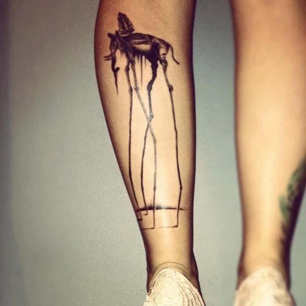 Τατουάζ εμπνευσμένα από διάσημα έργα τέχνης (30)