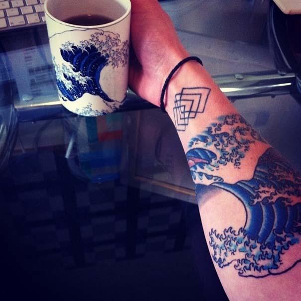 Τατουάζ εμπνευσμένα από διάσημα έργα τέχνης (32)