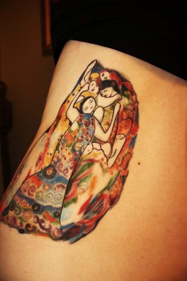 Τατουάζ εμπνευσμένα από διάσημα έργα τέχνης (33)