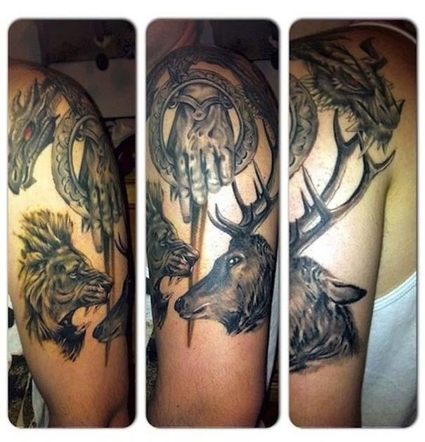 Τατουάζ Game Of Thrones (9)