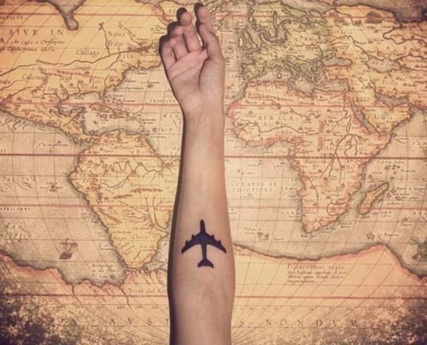 Τατουάζ για λάτρεις των ταξιδιών (2)