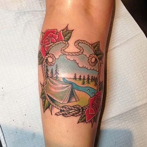 Τατουάζ για λάτρεις των ταξιδιών (5)