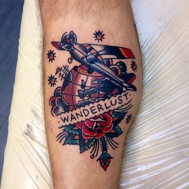 Τατουάζ για λάτρεις των ταξιδιών (6)