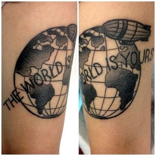 Τατουάζ για λάτρεις των ταξιδιών (9)