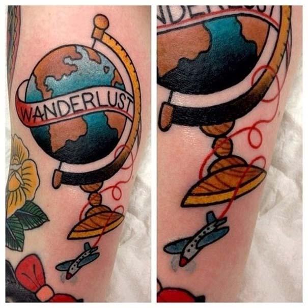 Τατουάζ για λάτρεις των ταξιδιών (10)