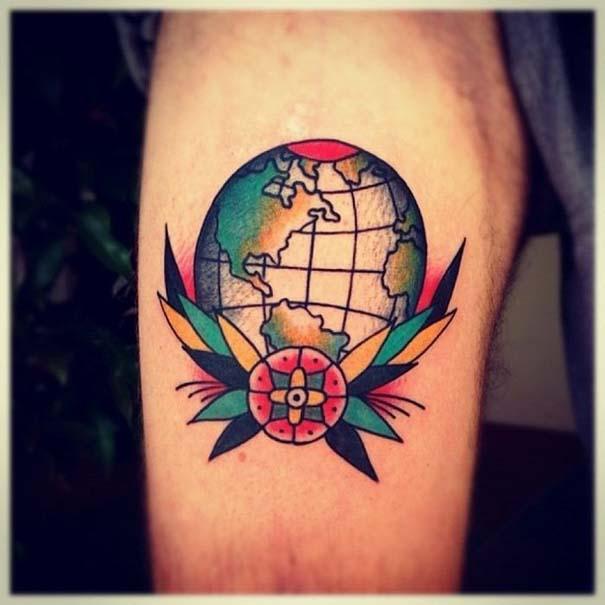 Τατουάζ για λάτρεις των ταξιδιών (27)