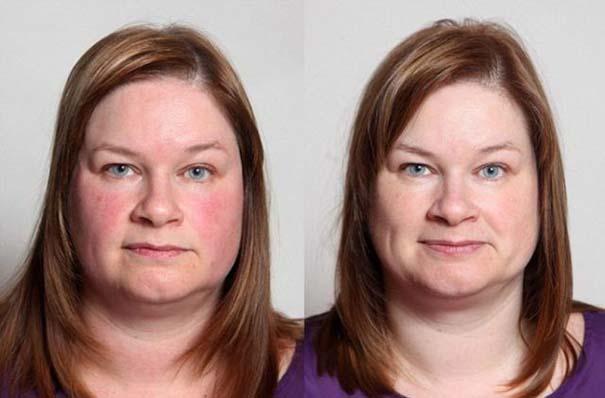 Η αλλαγή στην εμφάνιση μιας γυναίκας που έκοψε το αλκοόλ (6)
