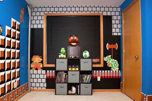 Απίστευτο δωμάτιο με διακόσμηση Super Mario (4)