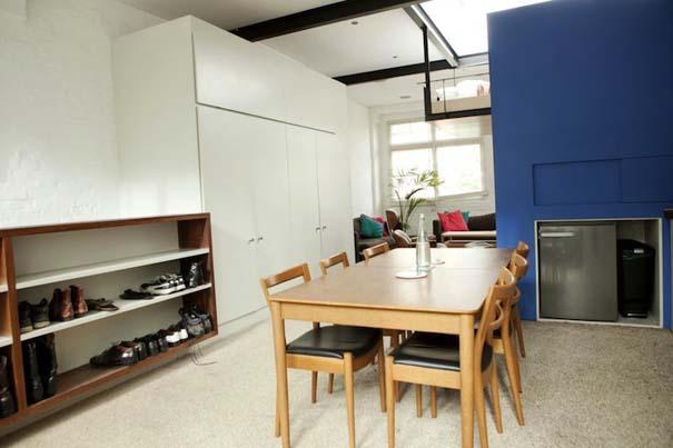 Διαμέρισμα στο Λονδίνο με κρεμαστό κρεβάτι (4)