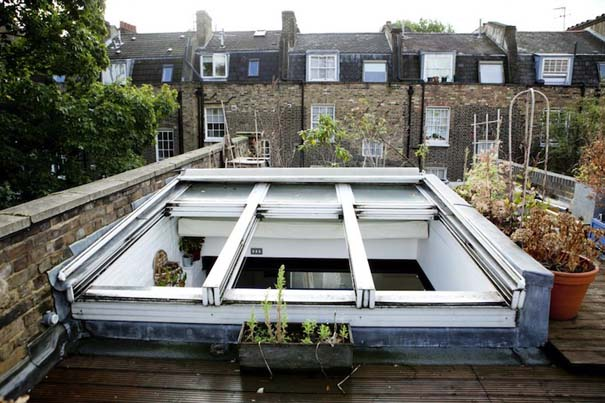 Διαμέρισμα στο Λονδίνο με κρεμαστό κρεβάτι (7)