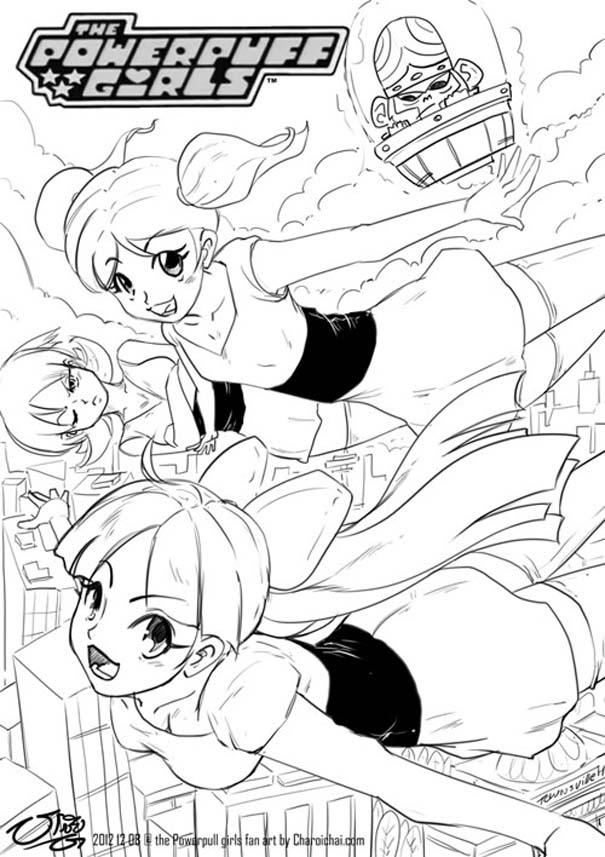 Διάσημοι χαρακτήρες καρτούν με την μορφή anime (8)